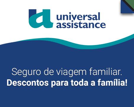 Seguros de viagem familiar Universal Assistance
