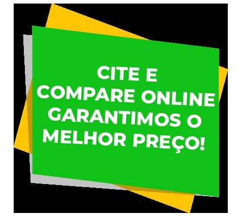 Cite e compare online garantizamos o melhor preco